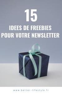 15 idées de cadeaux pour newsletter