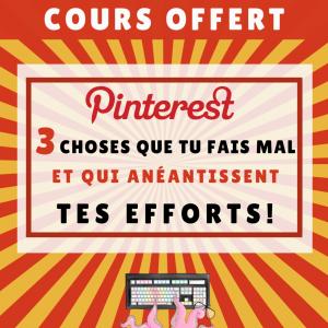 Bonus Pinterest