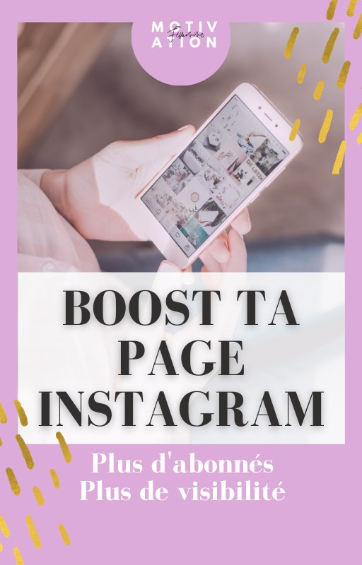 BOOST TA PAGE INSTAGRAM